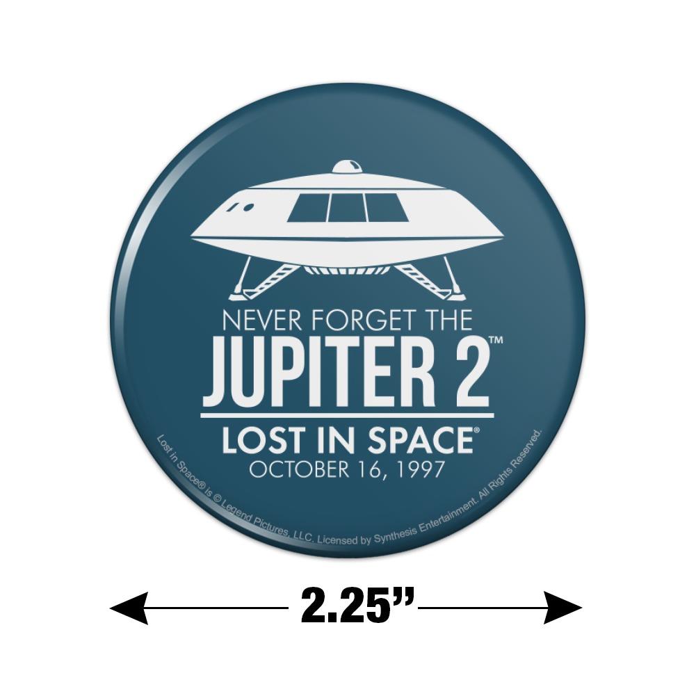 Lost in Space Jupiter 2 Spaceship Kitchen Refrigerator Locker Button Magnet