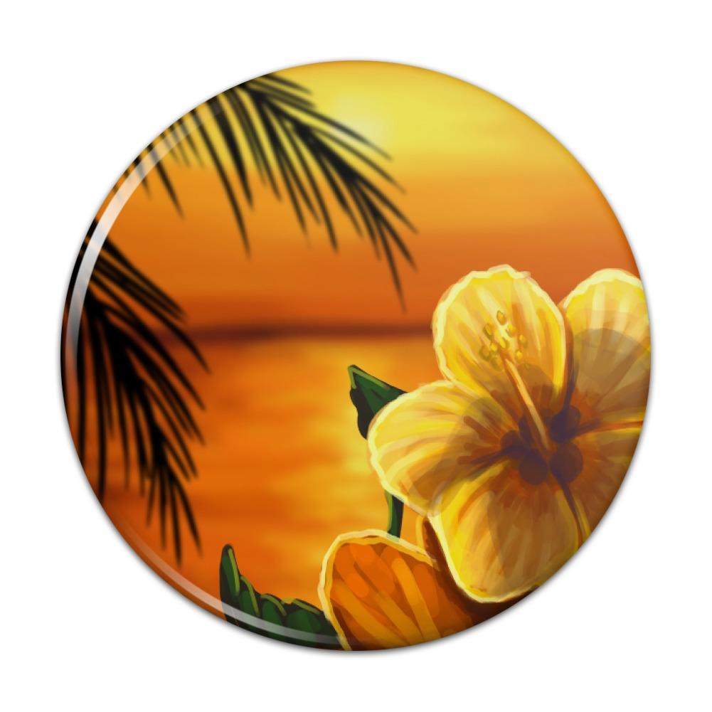 Beach sunset hibiscus flower hawaiian compact pocket purse hand beach sunset hibiscus flower hawaiian compact pocket purse izmirmasajfo