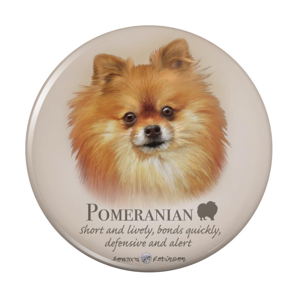 Pomeranian Dog Breed Compact Pocket Purse Hand Cosmetic Makeup