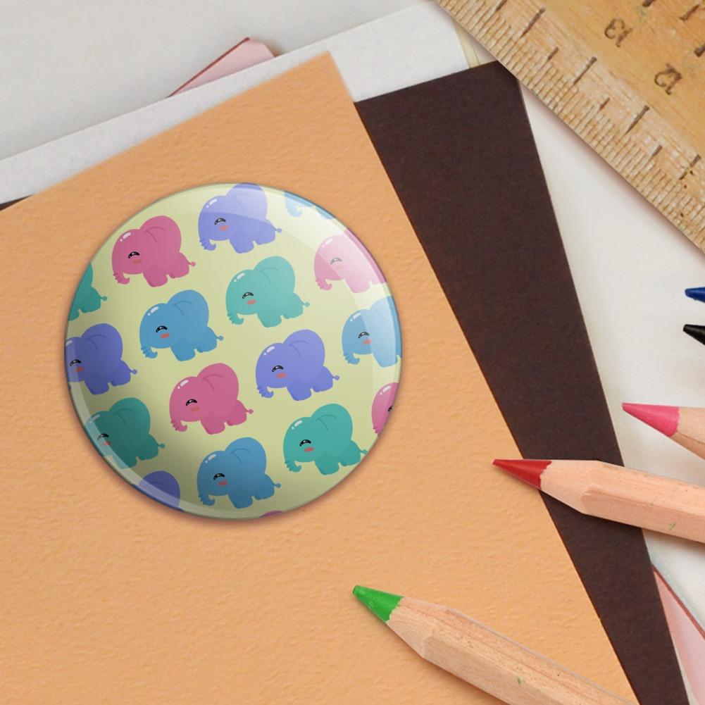 Cute-Kawaii-Baby-Elephants-Pattern-Puffy-Bubble-Scrapbooking-Sticker-Set miniatuur 6
