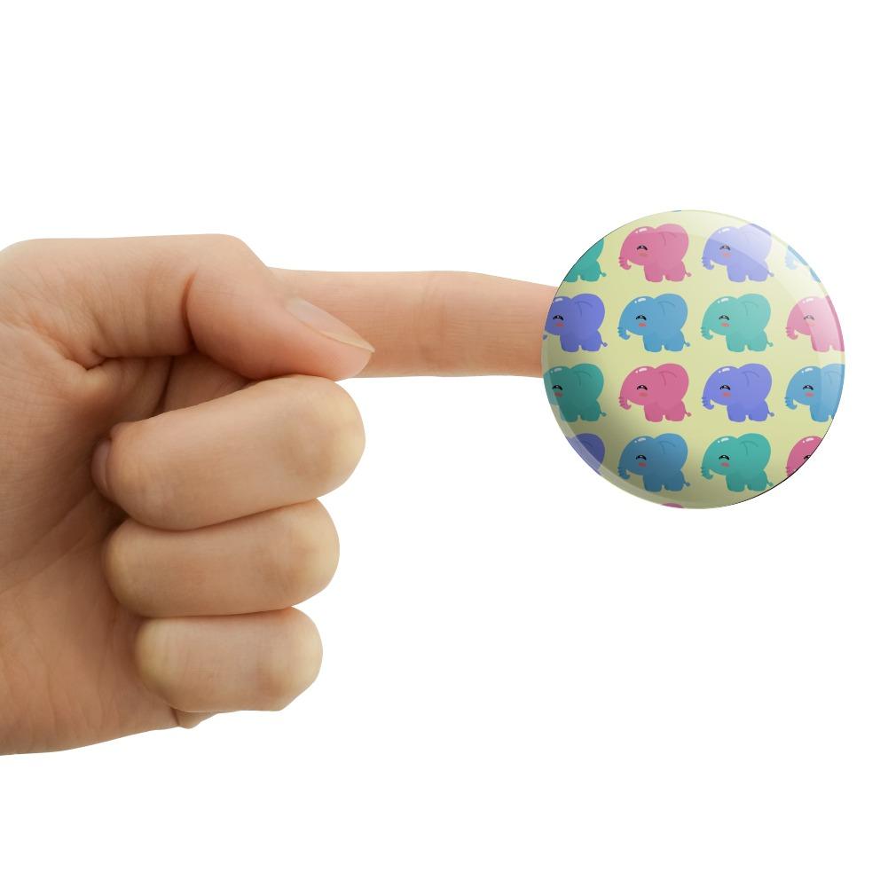 Cute-Kawaii-Baby-Elephants-Pattern-Puffy-Bubble-Scrapbooking-Sticker-Set miniatuur 7
