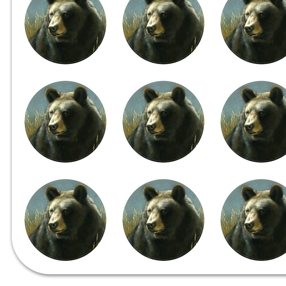 Black Bear Big Game Hunting Planner Calendar Scrapbooking Crafting Stickers
