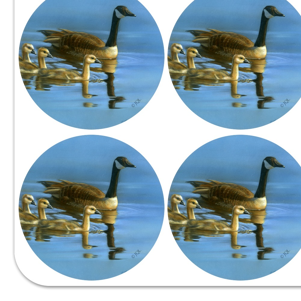 Canada Canadian Geese Family Planner Calendar Scrapbooking Crafting Stickers