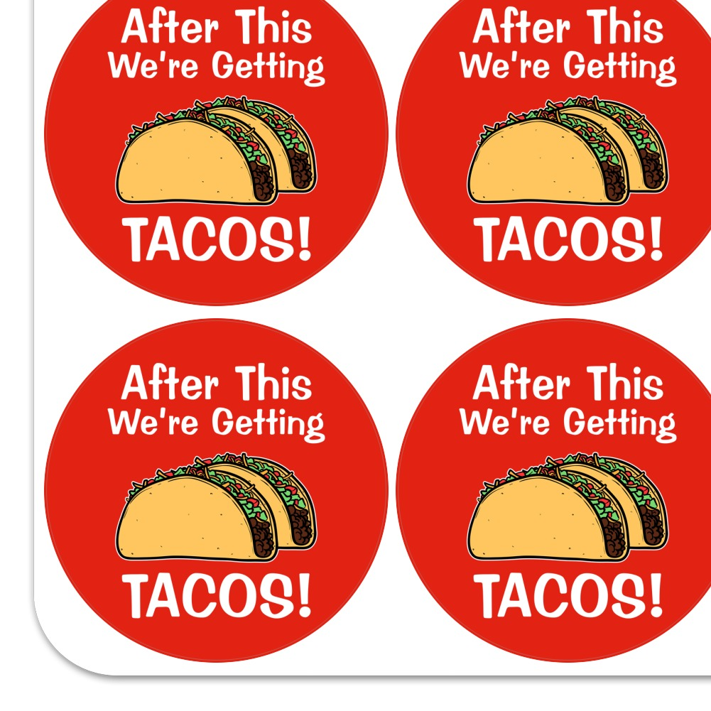 After this We/'re Getting Tacos Planner Calendar Scrapbooking Crafting Stickers