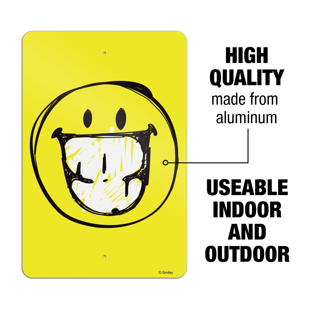Smile Youre On Camera 9 x 6 Wood Sign