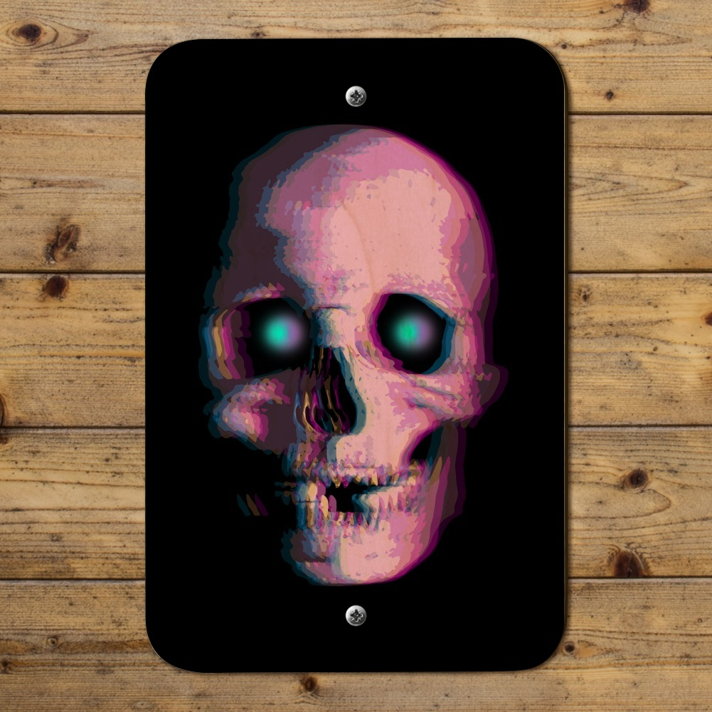 Stereoscopic Skull 3D Home Business Office Sign