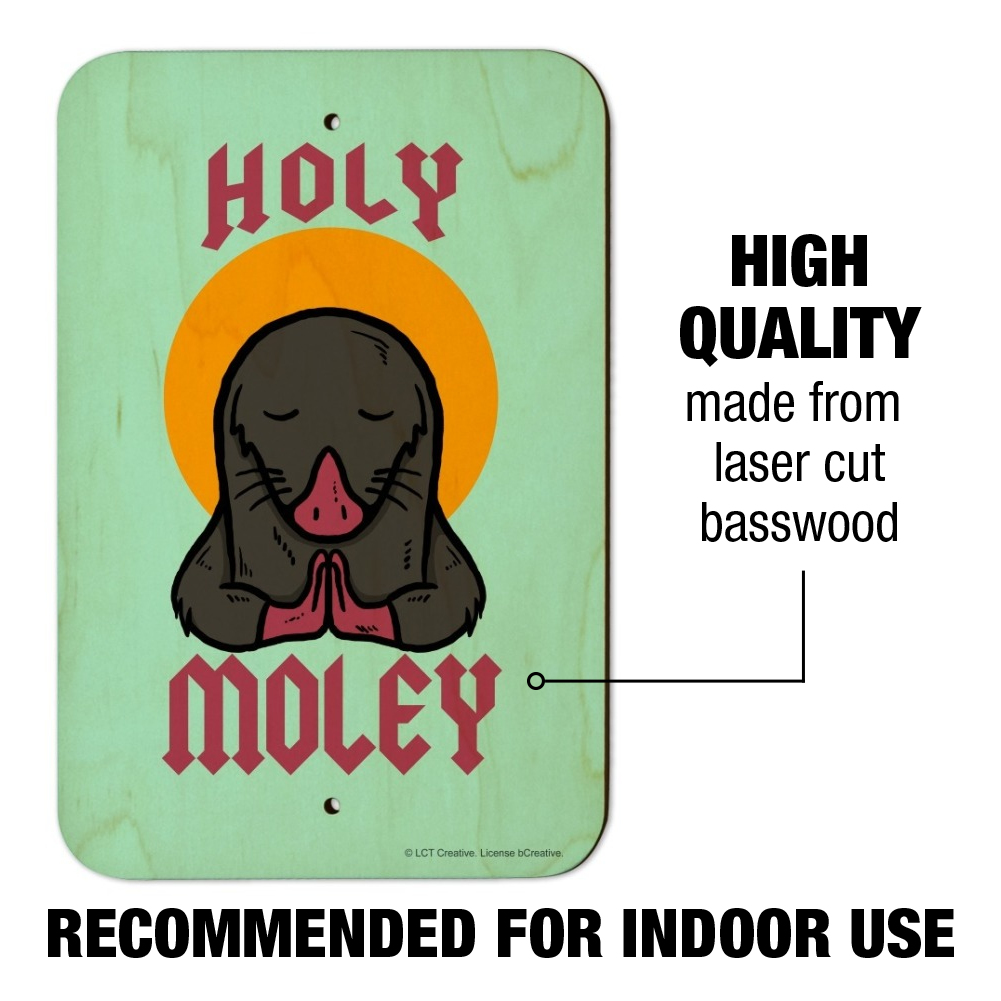 Holy Moley Religious Mole Funny Humor Classic Metal Envelope Letter Opener