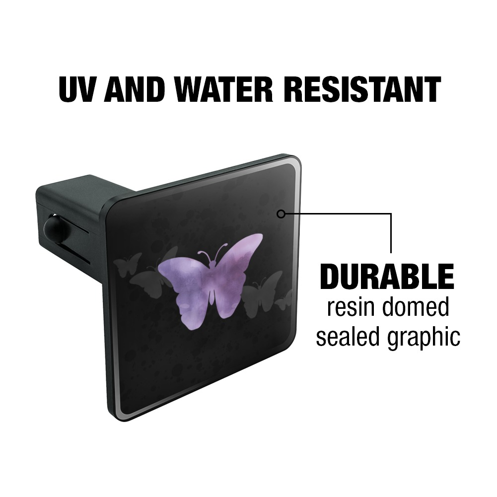 Purple-Butterfly-Watercolor-Silhouette-Tow-Trailer-Hitch-Cover-Plug-Insert