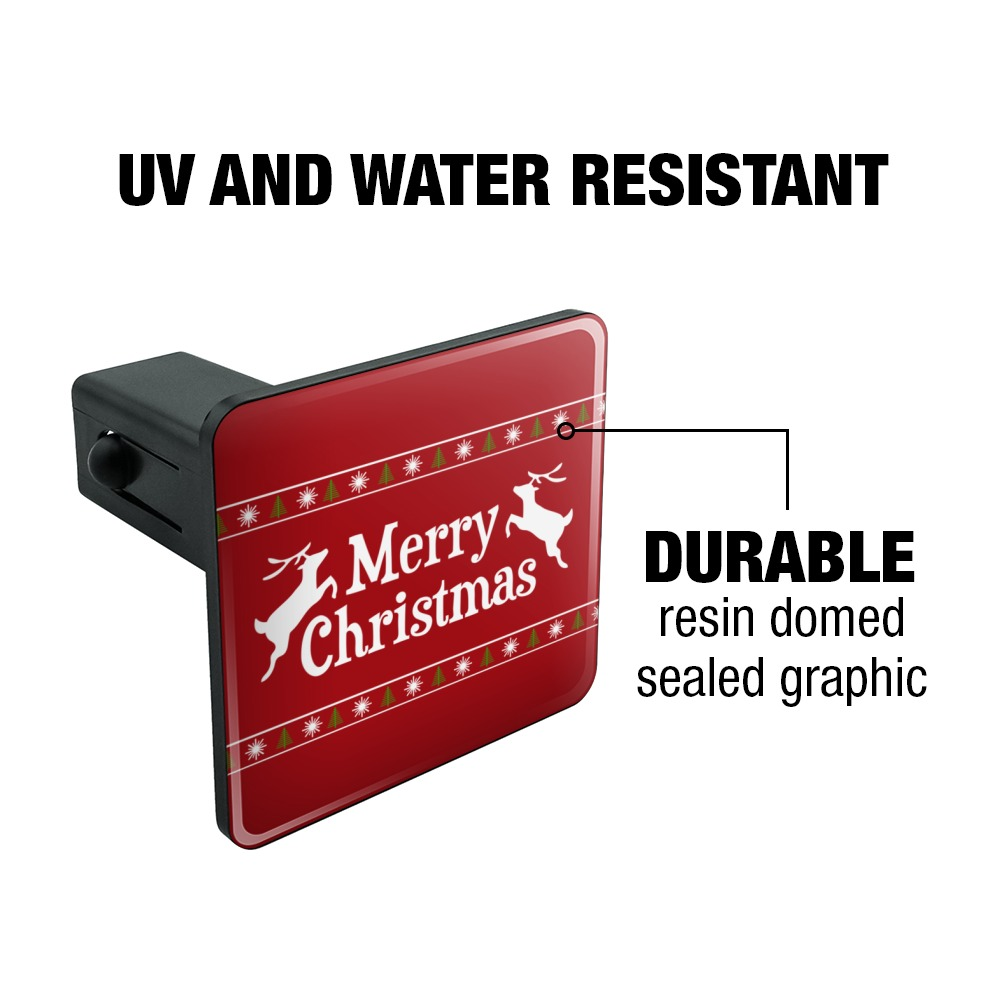 Merry-Christmas-Holiday-Reindeer-Tow-Trailer-Hitch-Cover-Plug-Insert