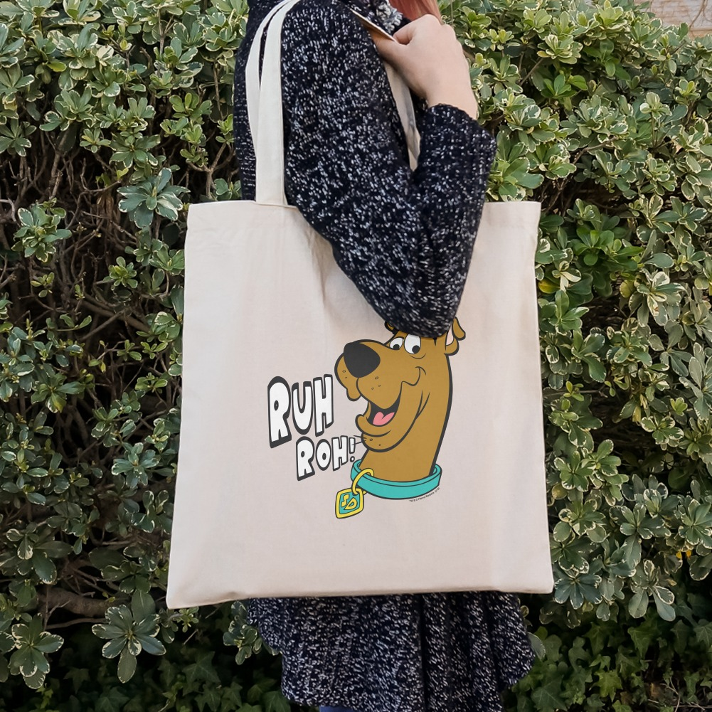 Scooby-Doo Ruh Roh Grocery Travel Reusable Tote Bag