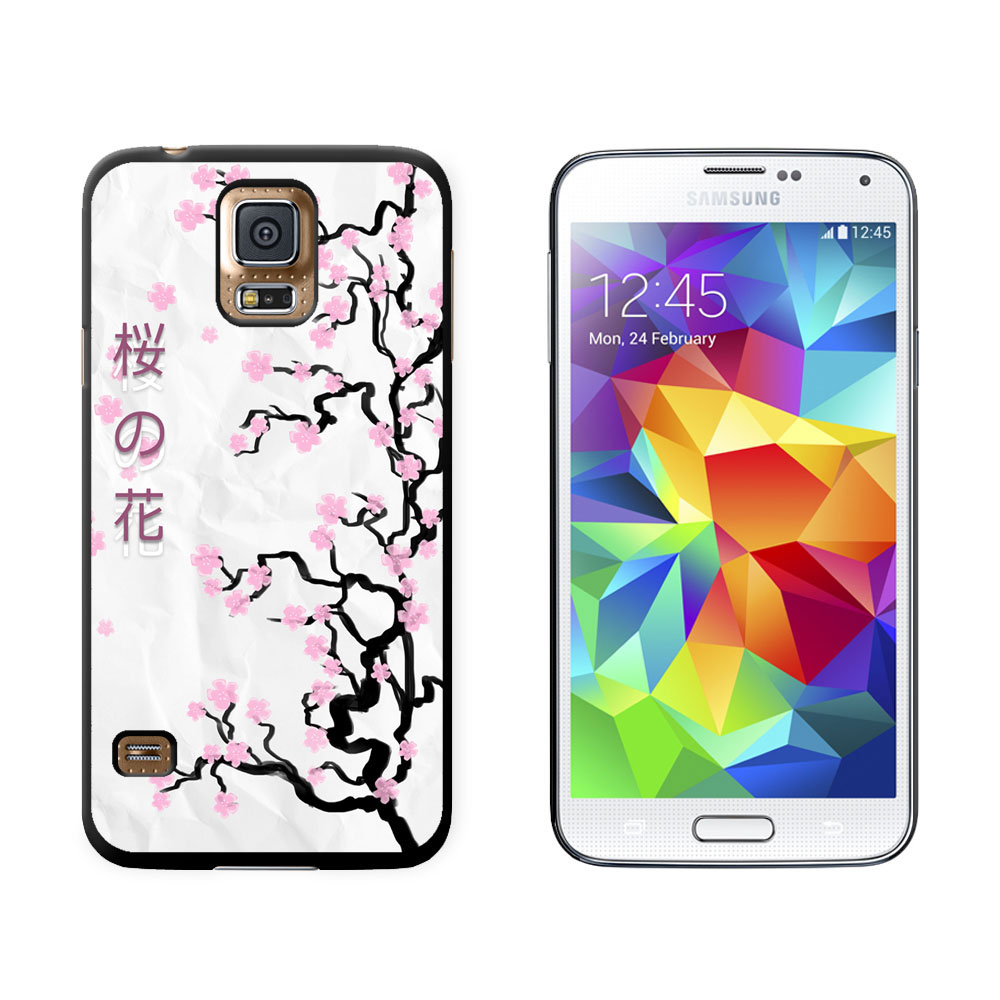 Cherry Blossoms Tree Asian Japanese Symbols Case For Samsung
