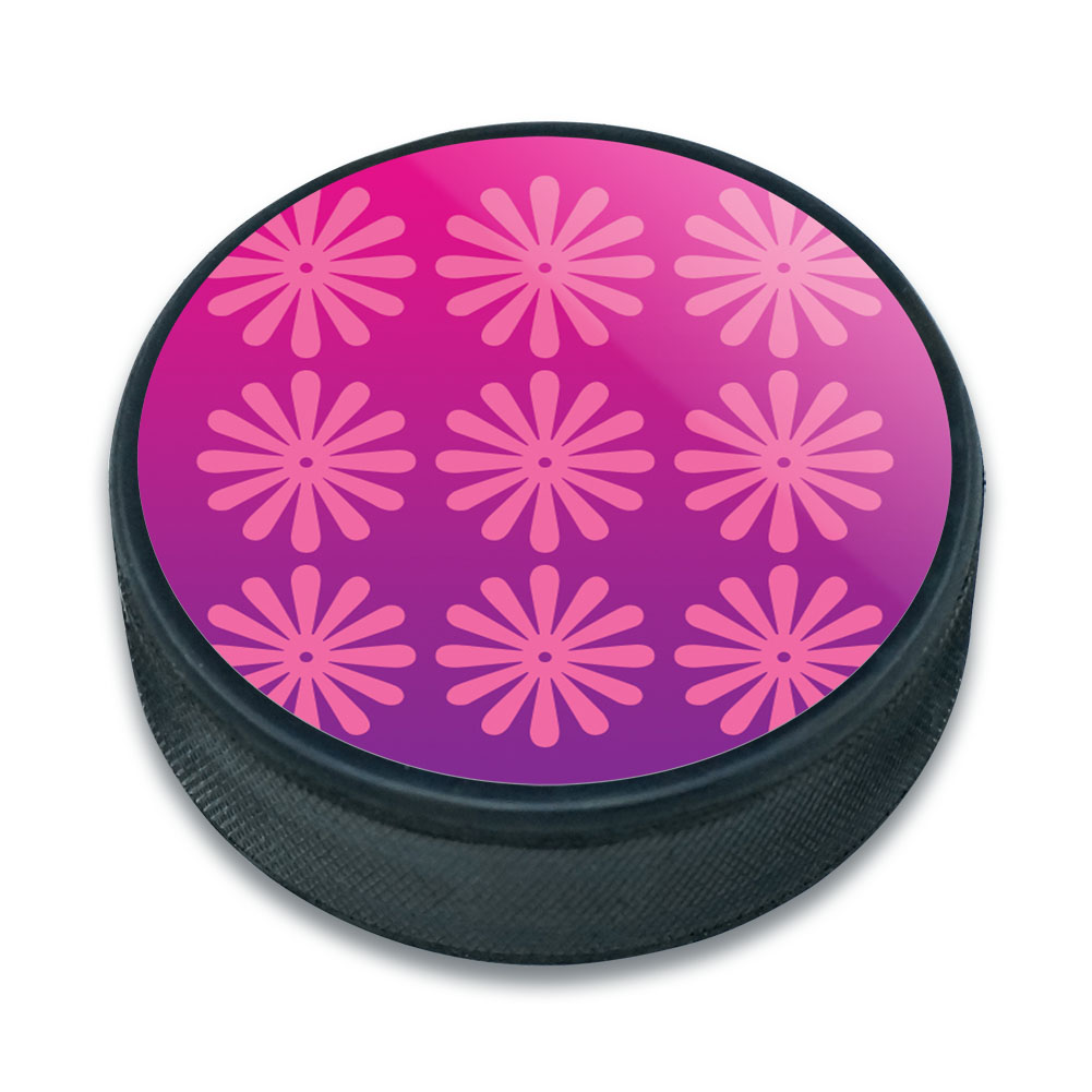 ice hockey puck flowers ebay. Black Bedroom Furniture Sets. Home Design Ideas