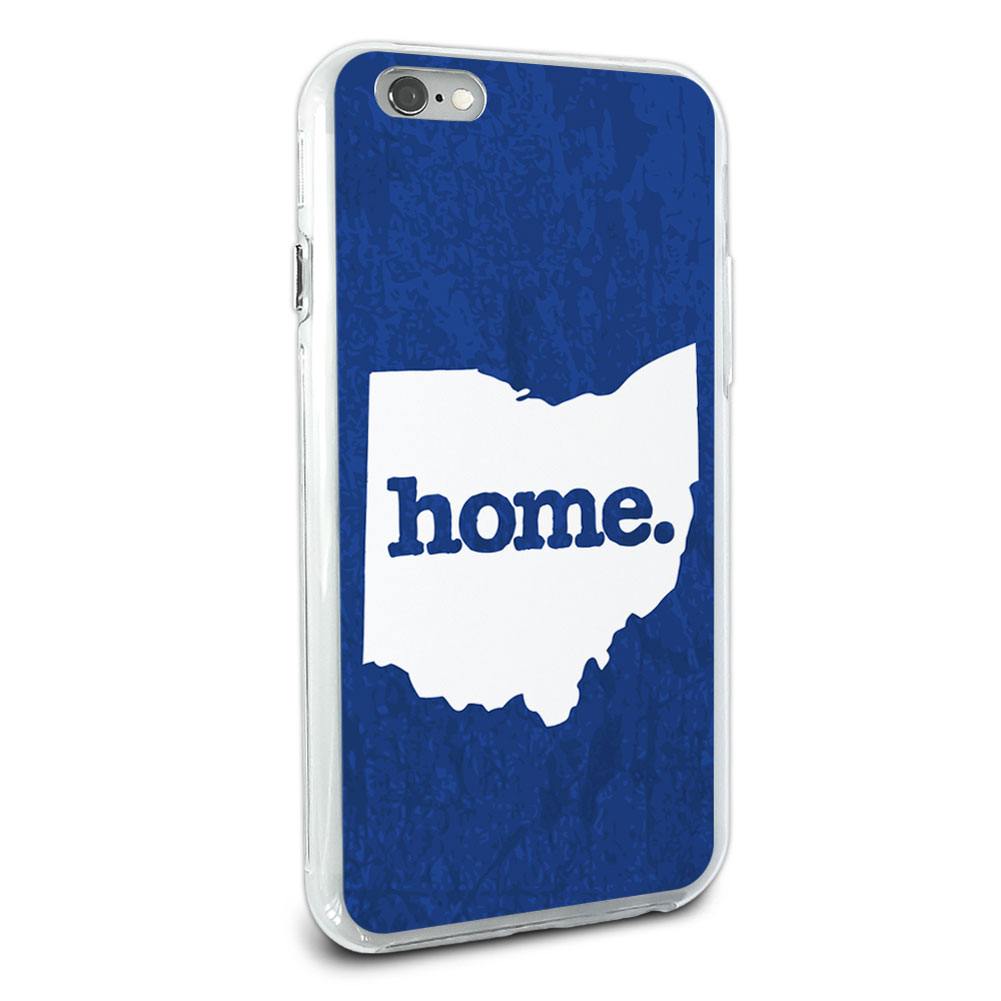 ohio oh home state hybrid case for apple iphone 6 6s plus ebay. Black Bedroom Furniture Sets. Home Design Ideas