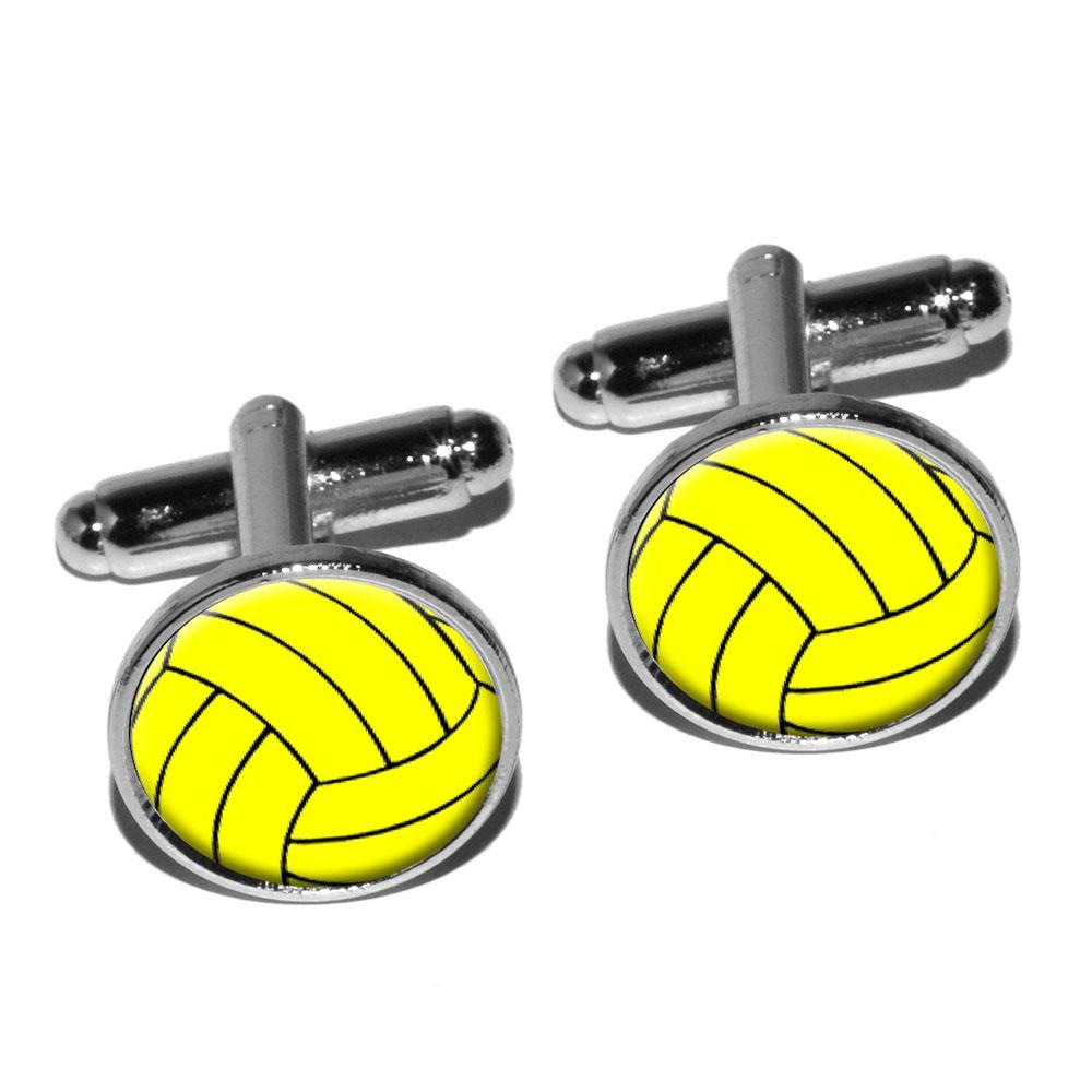water polo water polo ball round cufflink set ebay