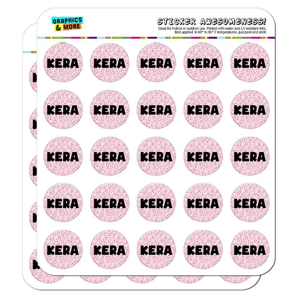 "1/"" Scrapbooking Crafting Stickers Names Female Ke-Ki"
