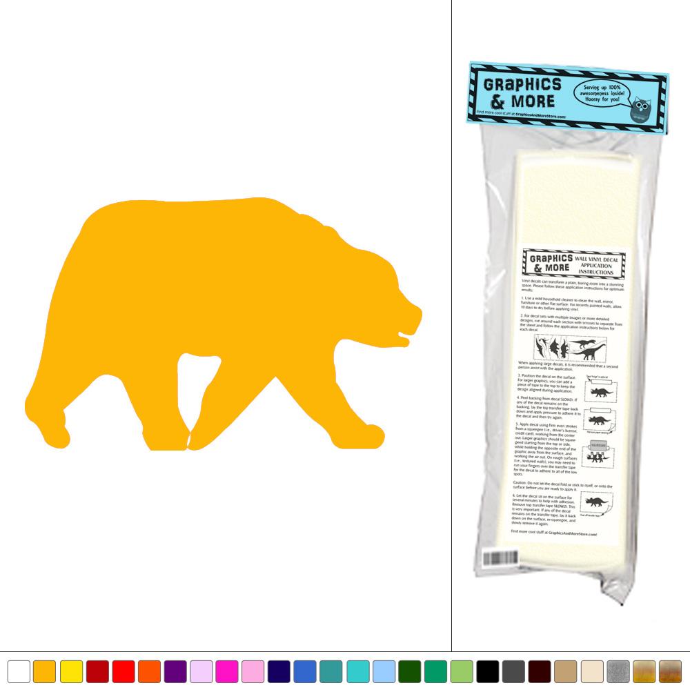 Bear Grizzly Black Brown - Vinyl Sticker Decal Wall Art Decor | eBay