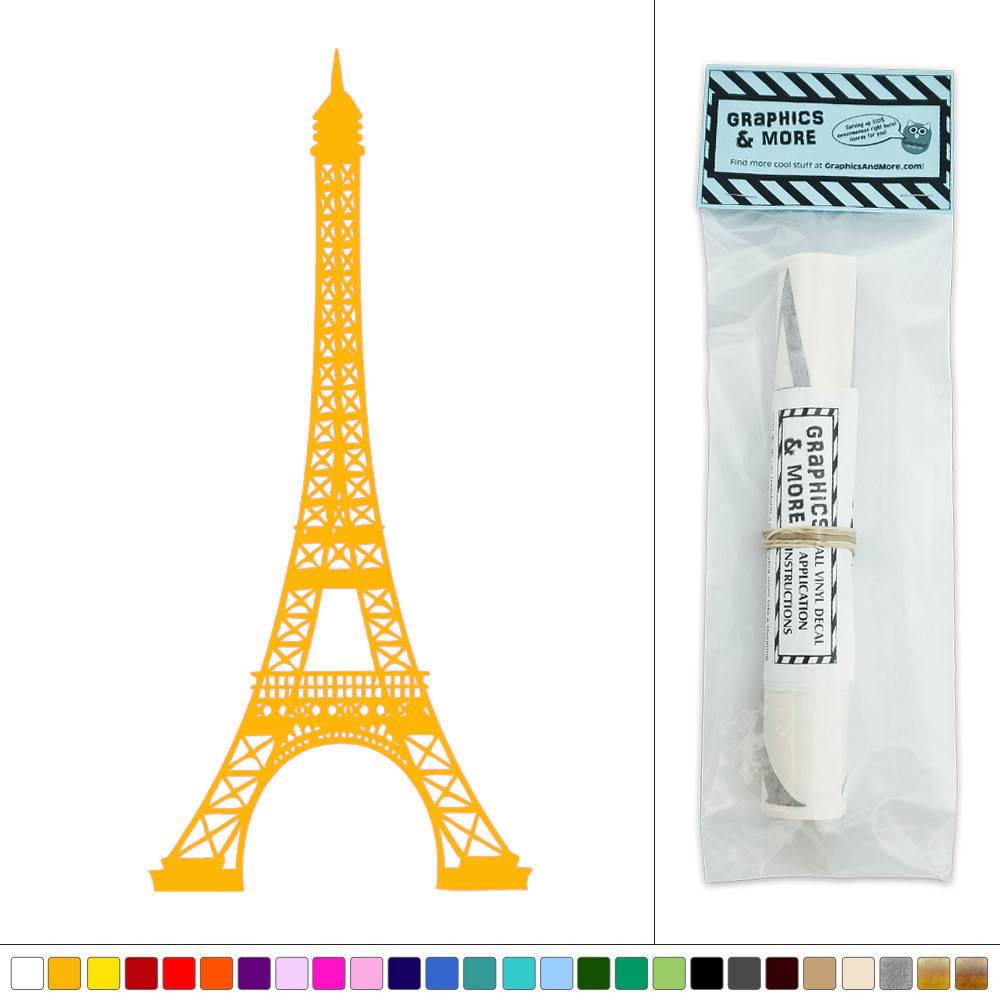 Eiffel Tower Vinyl Sticker Decal Wall Art D Cor