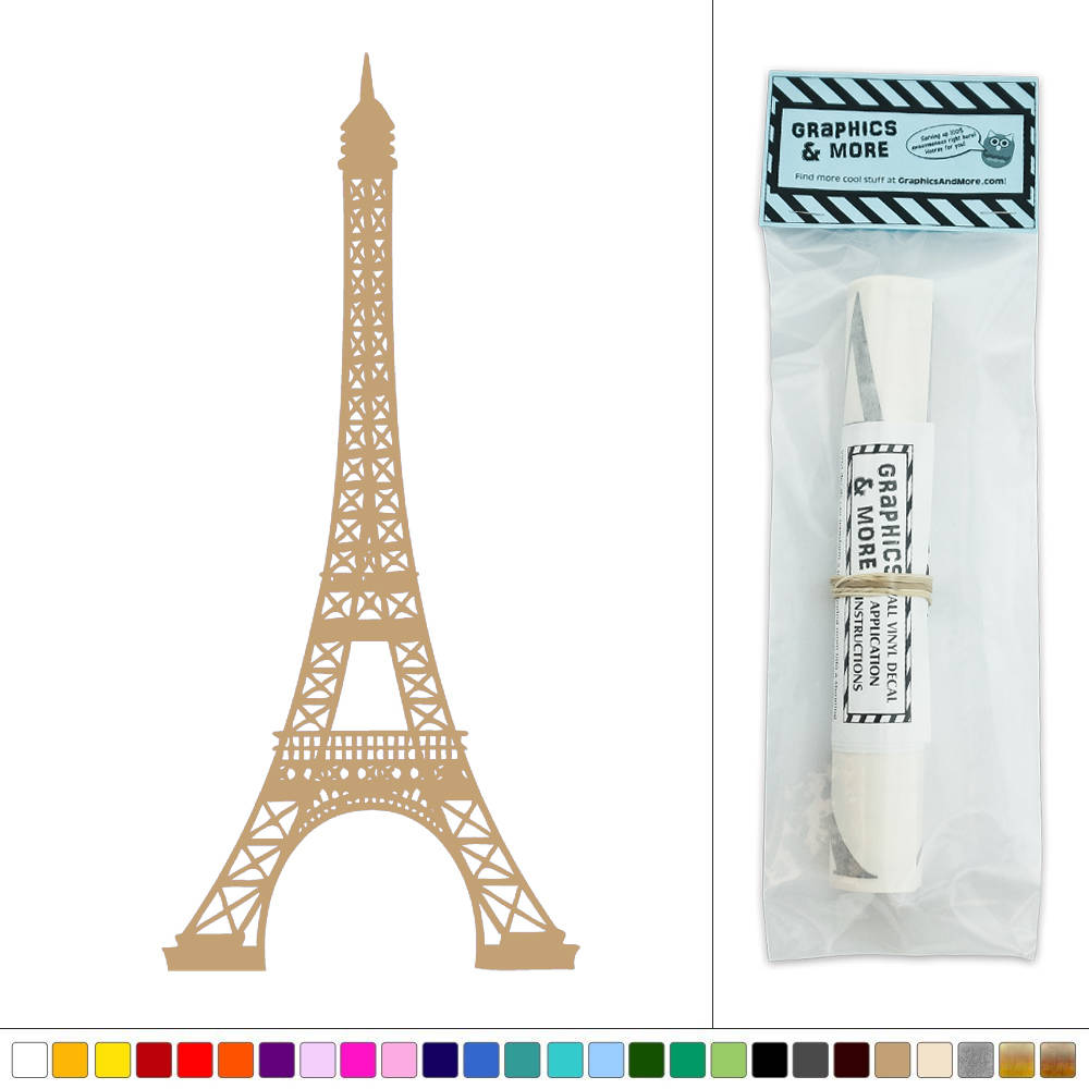 Eiffel Tower Vinyl Sticker Decal Wall Art D Cor Ebay