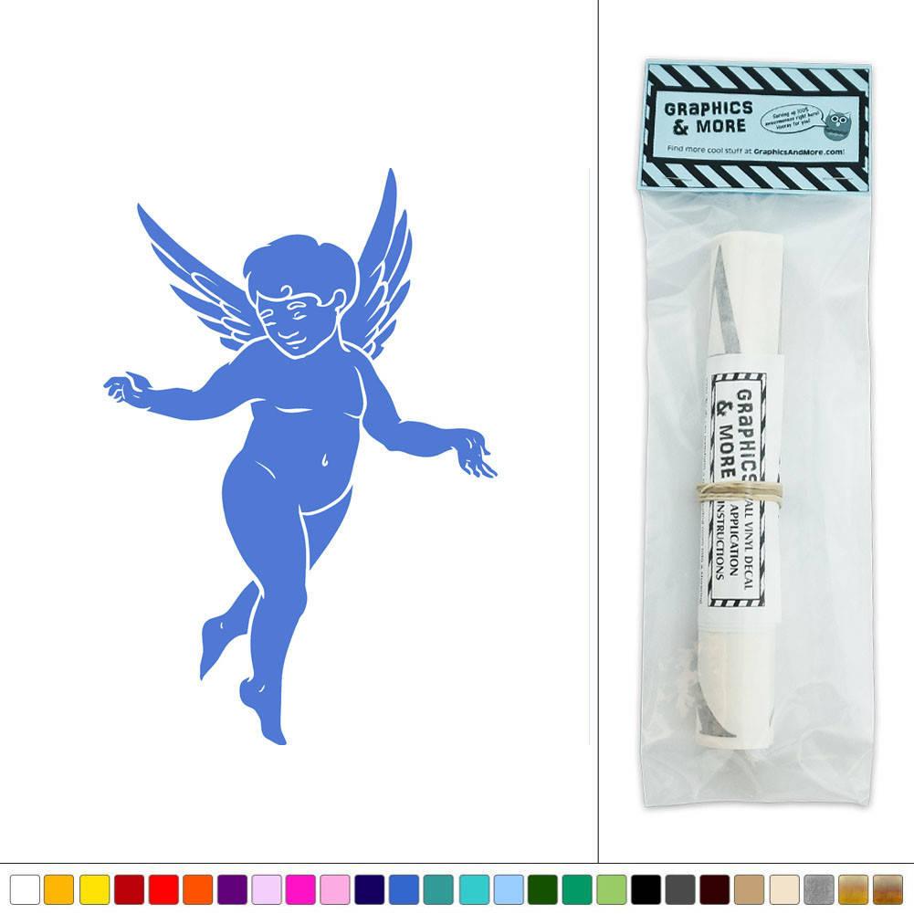 Wall Art Stickers Heaven : Angel spreading her wings vinyl sticker decal wall art d?cor