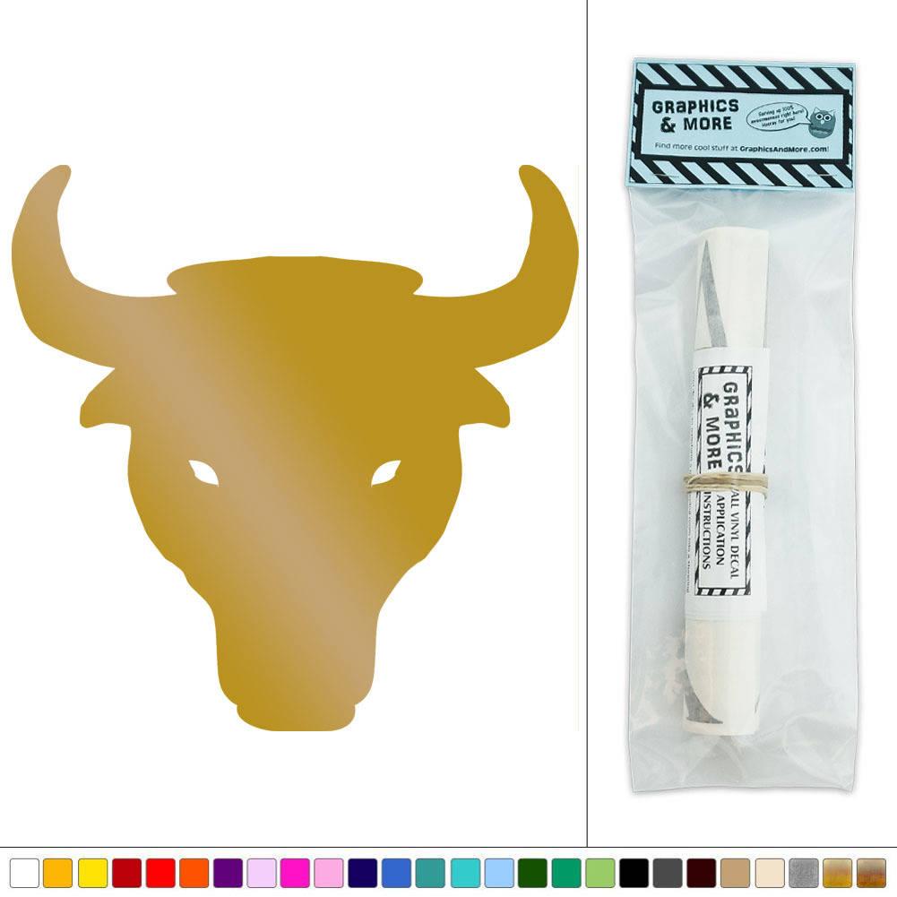 Colorful Bull Head Wall Decor Model - The Wall Art Decorations ...
