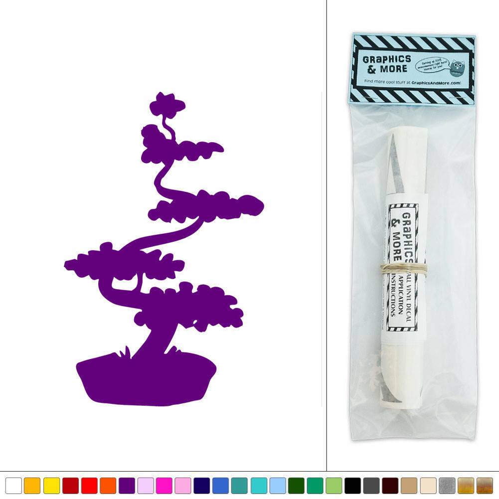 bonsai tree japanese vinyl sticker decal wall art d 233 cor vinyl wall art decal sticker tree stickerbrand
