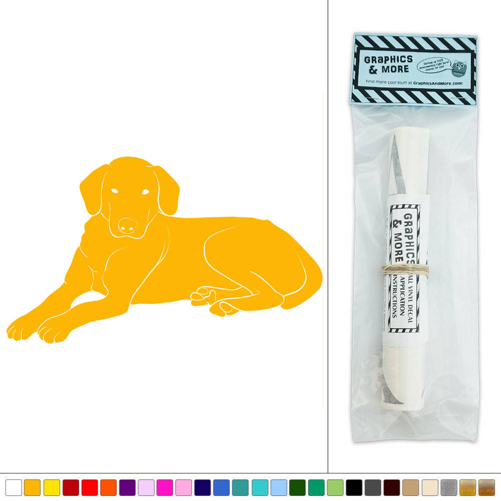 Dog Labrador Retriever Pet Vinyl Sticker Decal Wall Art Décor | eBay