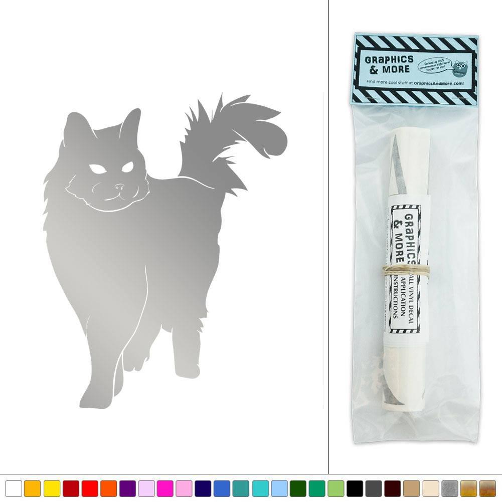Cat house pet vinyl sticker decal wall art d cor ebay for Cat home decorations