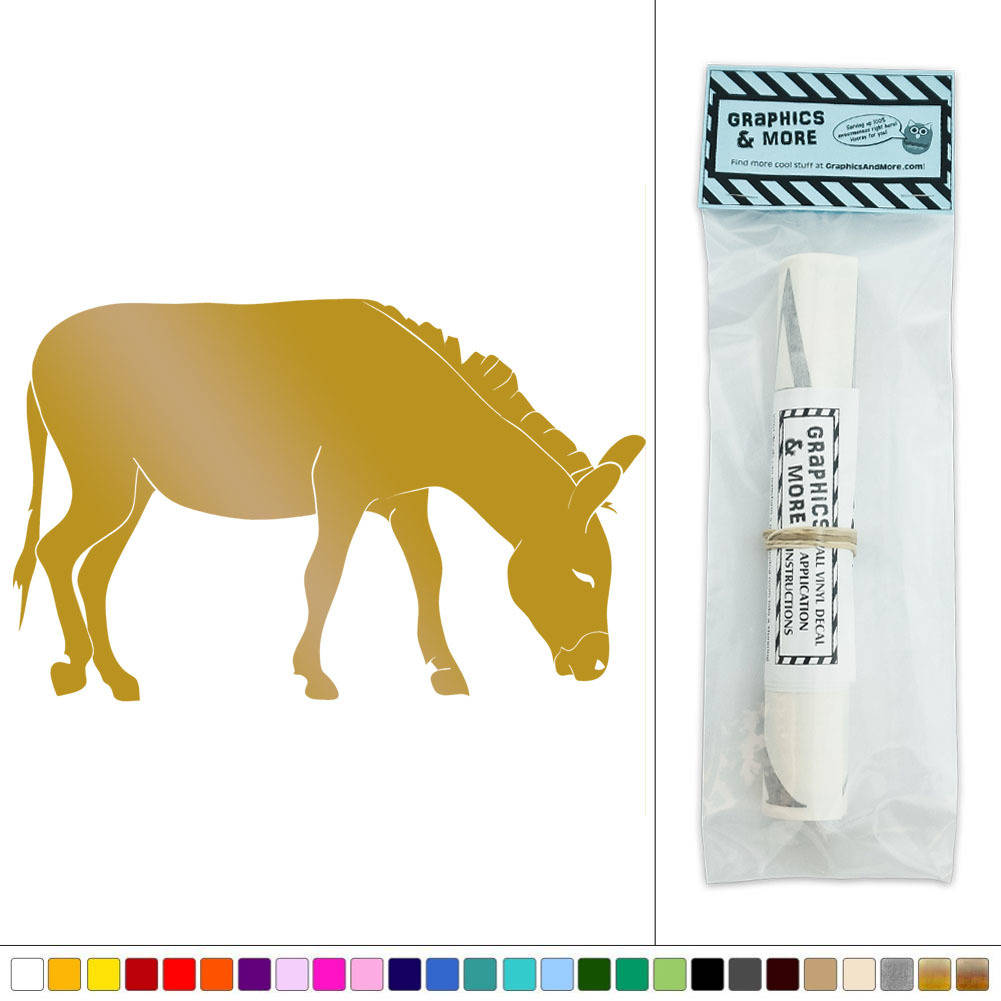 Donkey Farm Animal Vinyl Sticker Decal Wall Art Décor | eBay