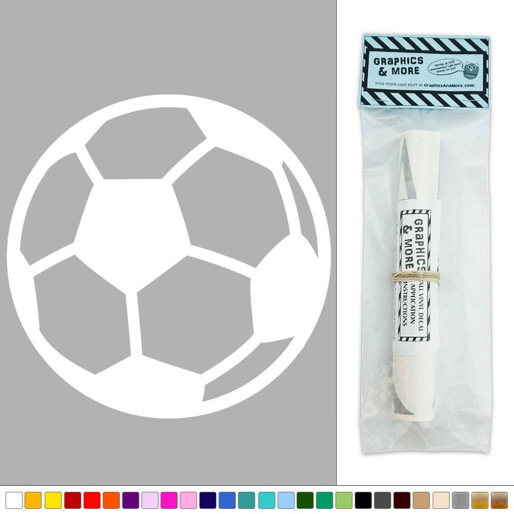 Soccer Ball Sports Football Vinyl Sticker Decal Wall Art D Cor