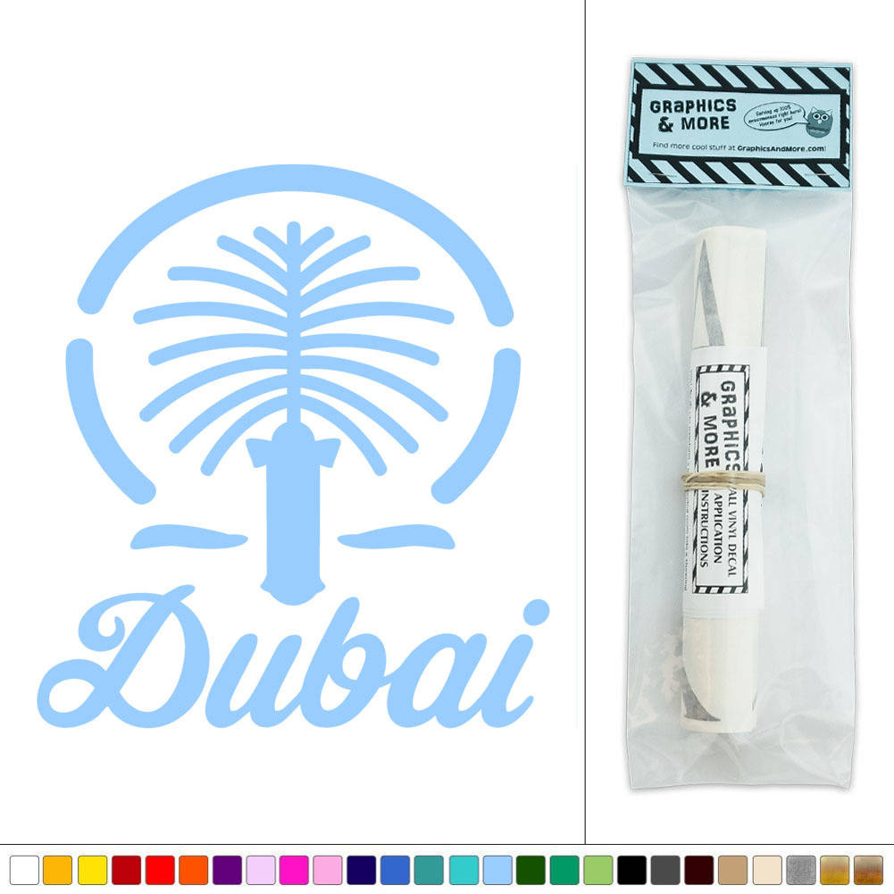 Dubai United Arab Emirates Vinyl Sticker Decal Wall Art D Cor Ebay