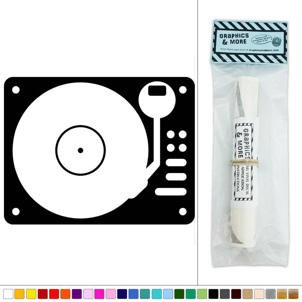 Record player vinyl music vinyl sticker decal wall art for House music vinyl
