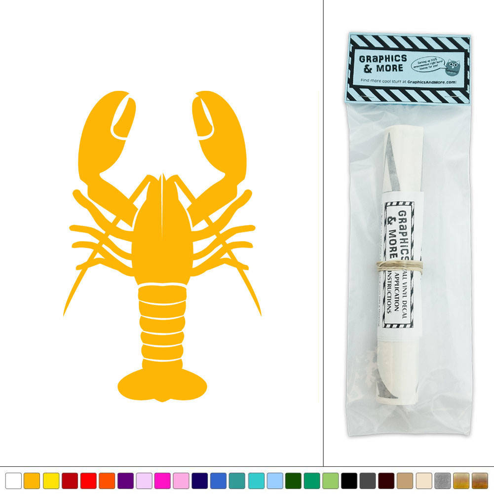 Lobster Seafood Marine Life Vinyl Sticker Decal Wall Art Décor | eBay