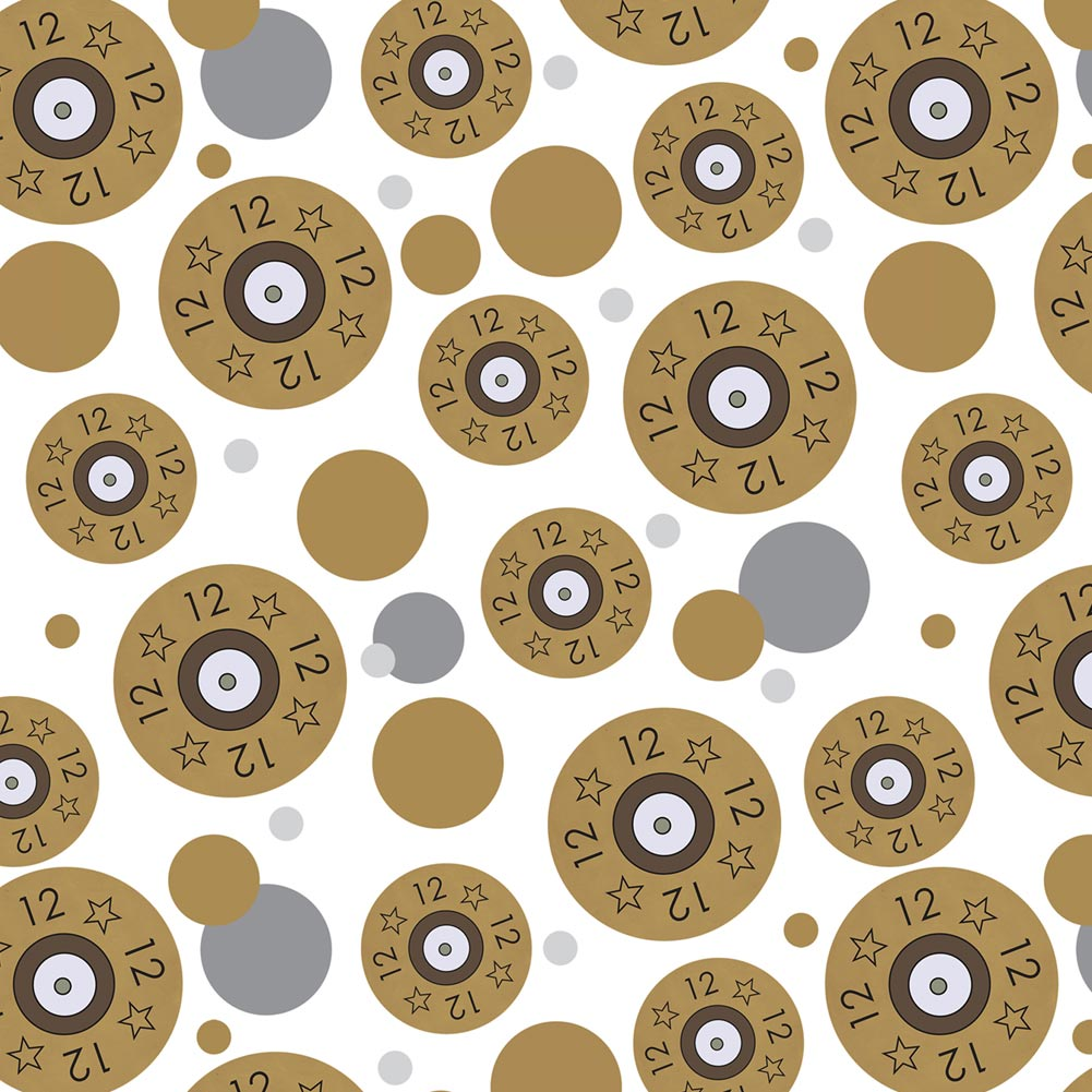 Premium Gift Wrap Wrapping Paper Roll Pattern Guns