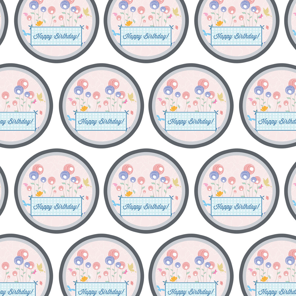 Premium Gift Wrap Wrapping Paper Roll Birthday Party | eBay