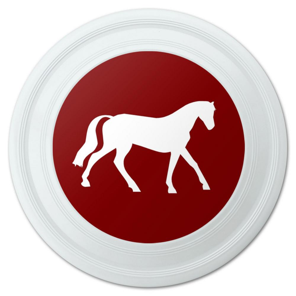 "Horse Riding Cowboy Western Novelty 9"" Flying Disc"