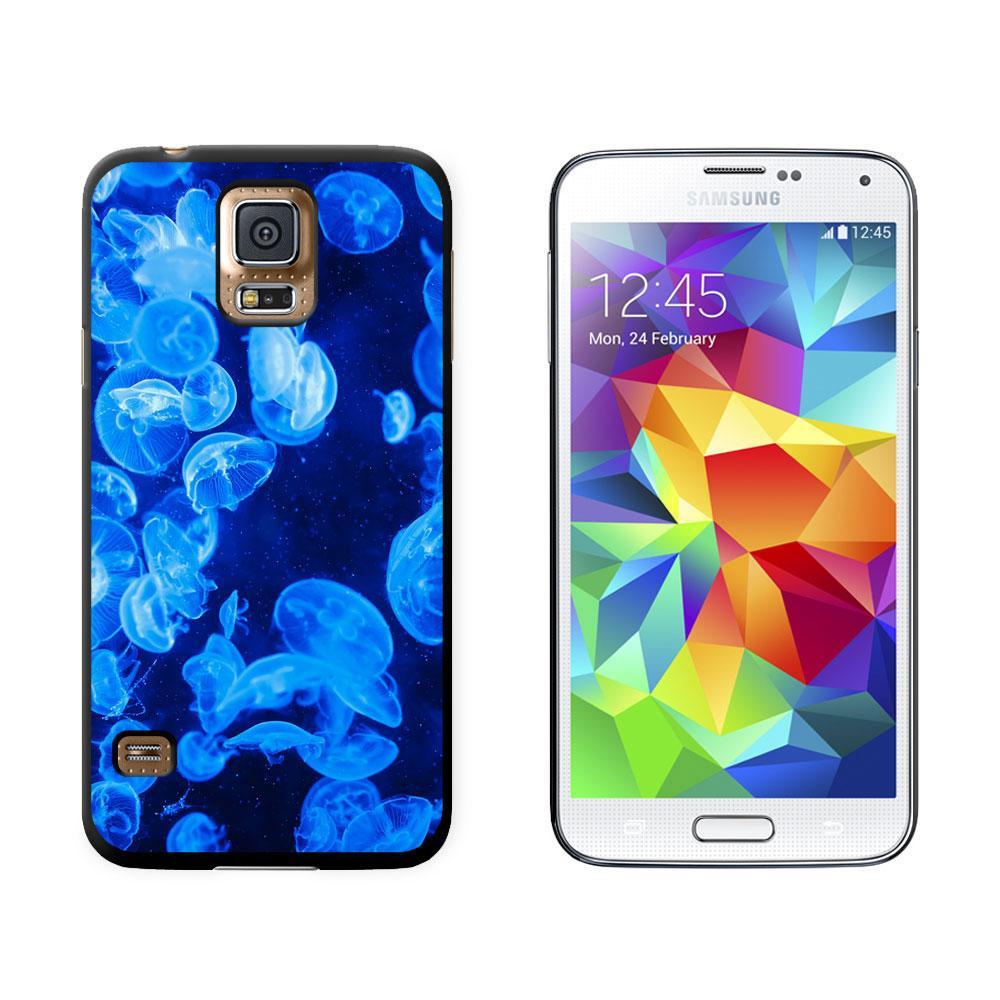 Jellyfish - Blue Jelly Fish Ocean Underwater Galaxy S5 Case