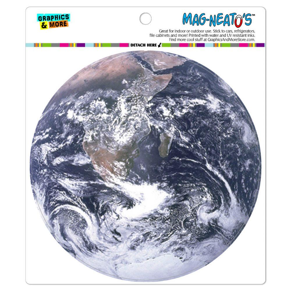 Planet Earth from Space - Circle MAG-NEATO'S(TM) Car/Refrigerator Magnet