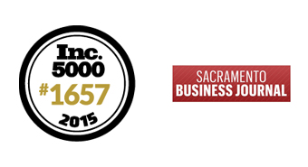 2015 Sac Biz Journal - Inc. 5000 List | Graphics and More #1657