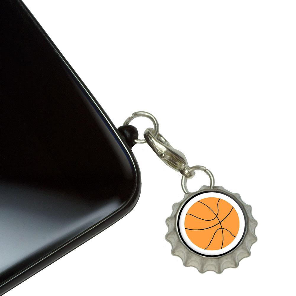 Basketball Mobile Phone Charm