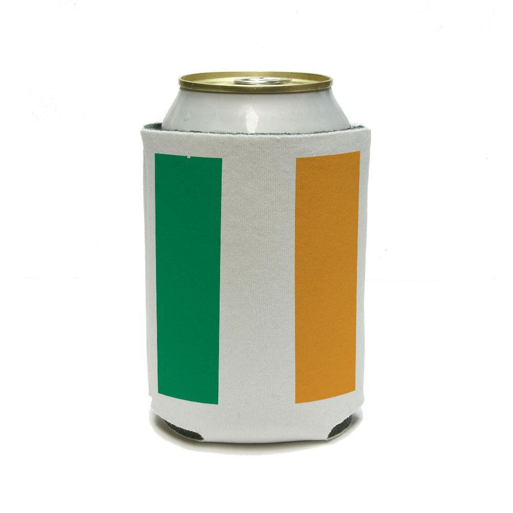 Ireland Flag - Irish St Saint Patrick's Day International Can Cooler Drink Insulator Beverage Insulated Holder