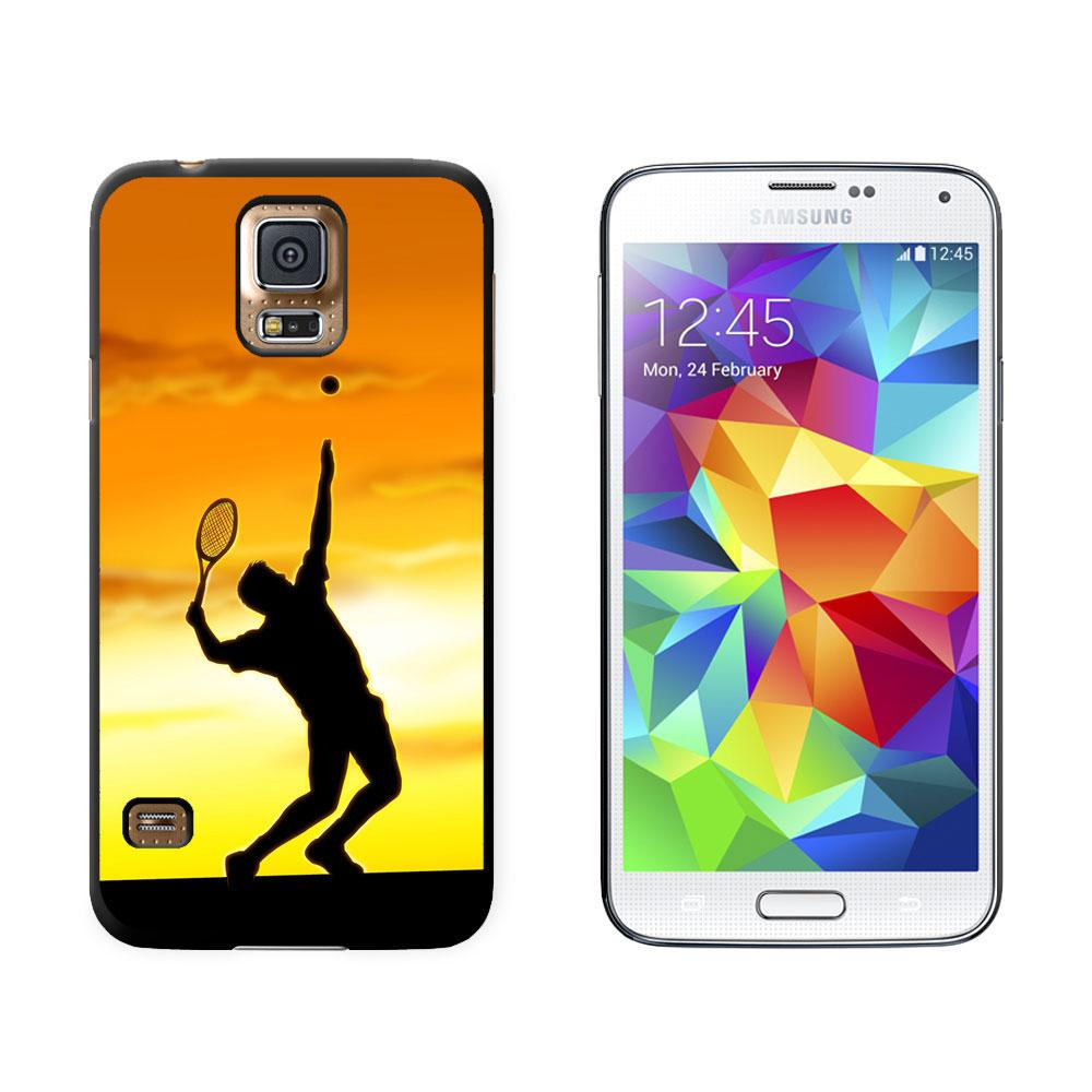 Tennis - Sunset Sport Galaxy S5 Case
