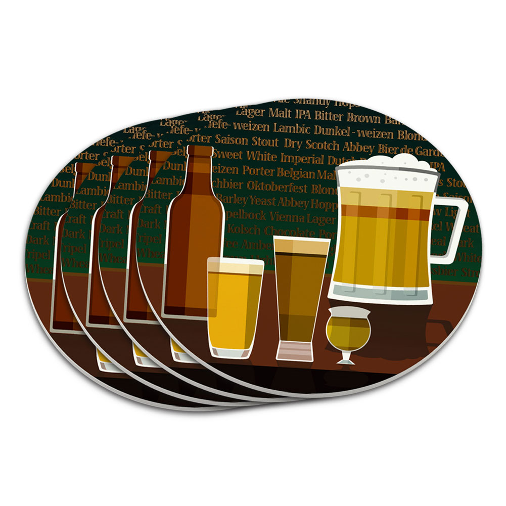 Coaster Set Food Drink Bacon Coffee Ebay