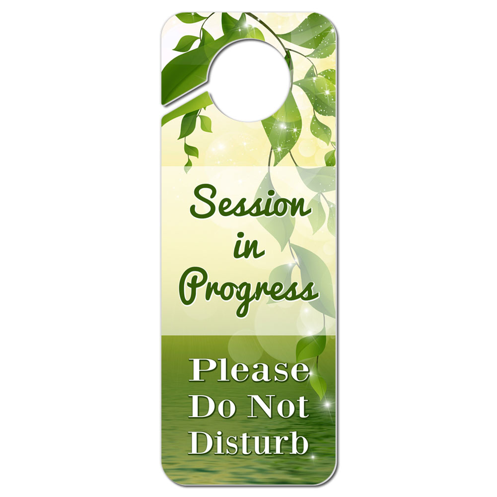 Diy Do Not Disturb Door Hanger Home Furniture Design - In session door hanger template