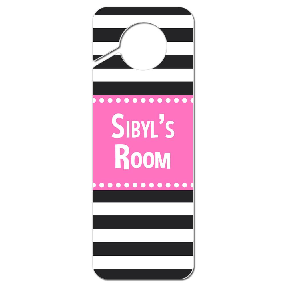 Do Not Disturb Plastic Door Knob Hanger Sign Female Names Si-St ...