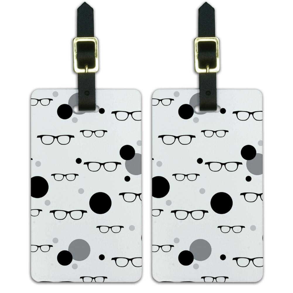 Luggage Suitcase Carry On Id Tags Set Of 2 Funny Nerdy Ebay