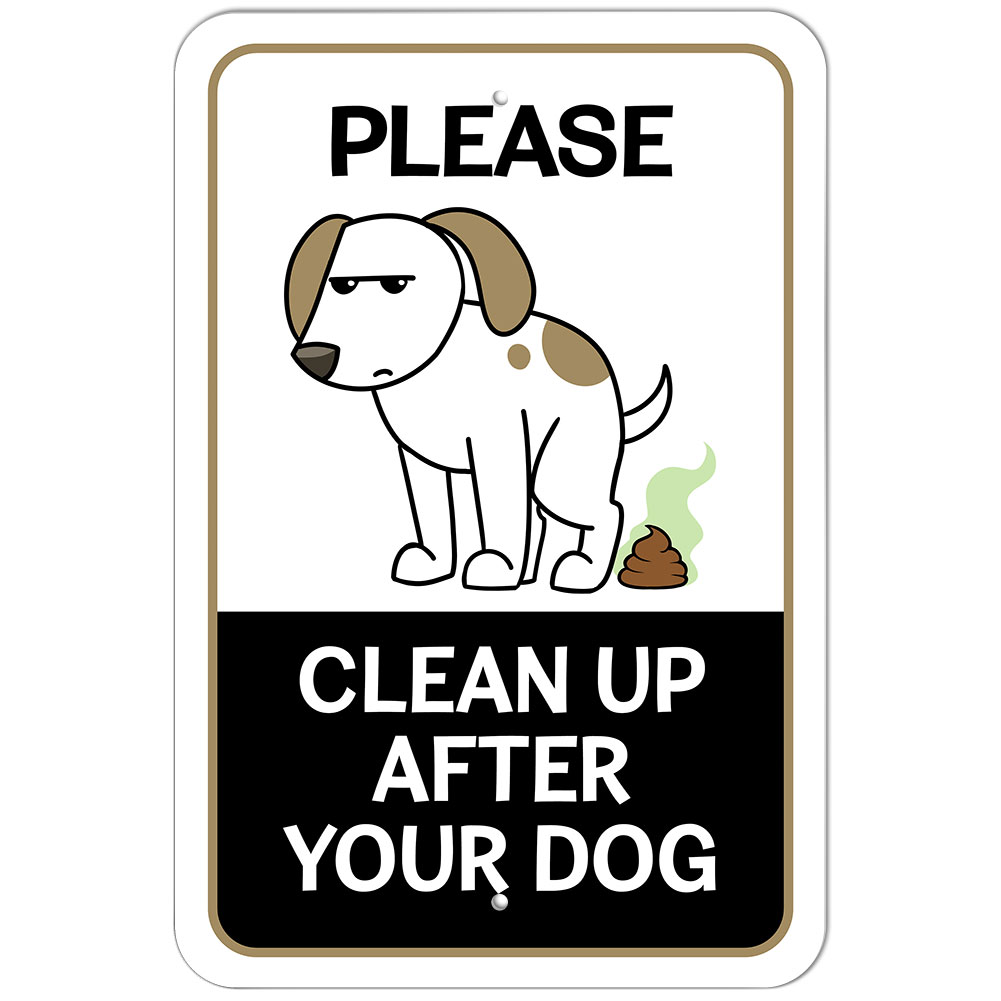 Please Be A Good Neighbor Clean Up After Your Dog